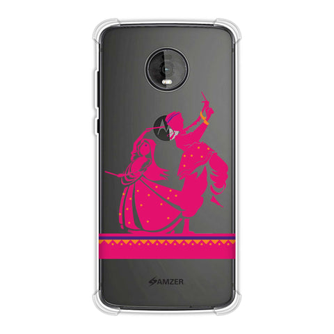 Dandiya Beats Soft Flex Tpu Case For Motorola Moto Z4