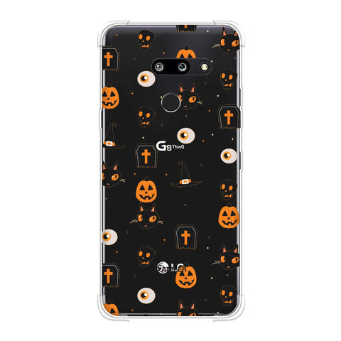 Spooky Collage Soft Flex Tpu Case For LG G8 ThinQ