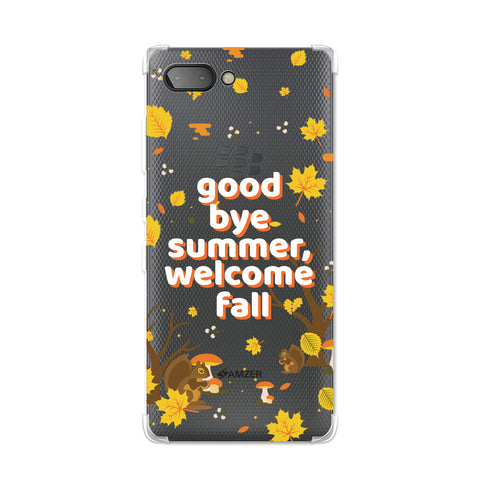 Goodbye Summer Soft Flex TPU Case For BlackBerry Key2