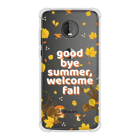 Goodbye Summer Soft Flex Tpu Case For Motorola Moto Z4