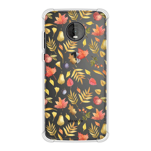 Colours of Autumn Soft Flex Tpu Case For Motorola Moto Z4