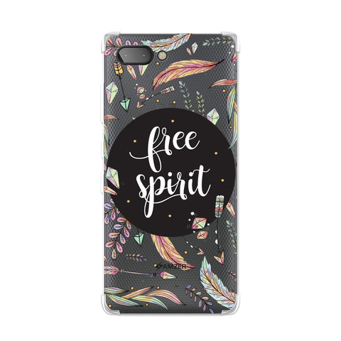 The Free Spirit Soft Flex TPU Case For BlackBerry Key2
