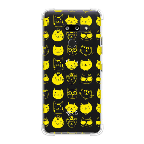 Cat Party Soft Flex Tpu Case For LG G8 ThinQ