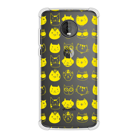 Cat Party Soft Flex Tpu Case For Motorola Moto Z4