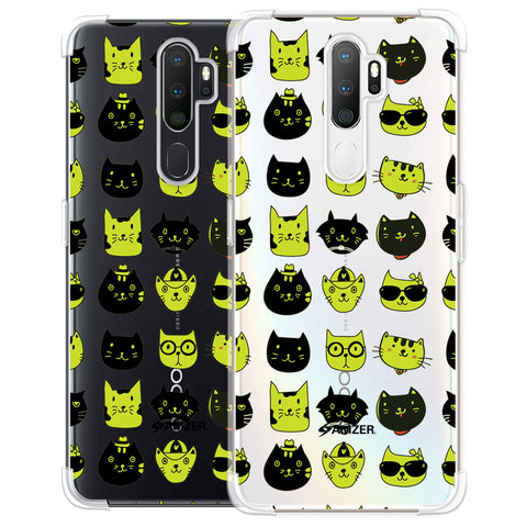 Cat Party Soft Flex Tpu Case For Oppo A5 2020