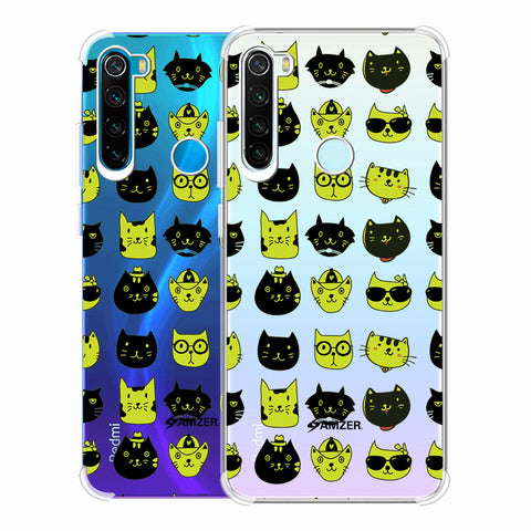 Cat Party Soft Flex Tpu Case For Redmi Note 8