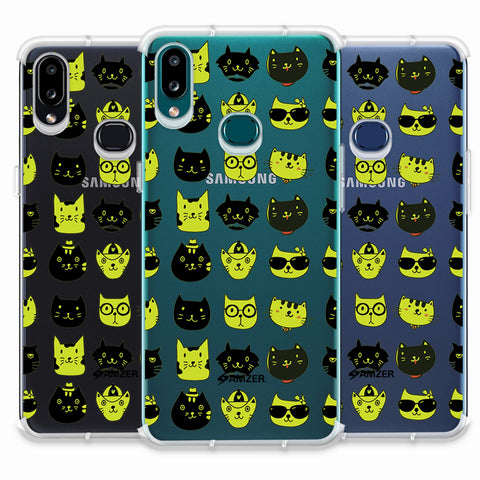 Cat Party Soft Flex Tpu Case For Samsung Galaxy A10s
