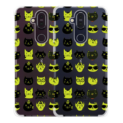Cat Party Soft Flex Tpu Case For Nokia 8.1