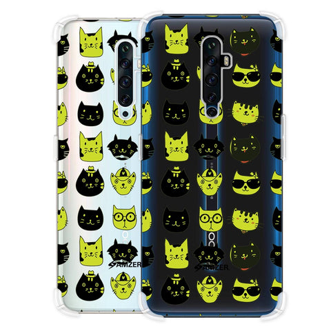Cat Party Soft Flex Tpu Case For Oppo Reno2 Z
