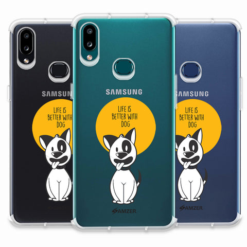 Life Is Better With A Dog Soft Flex Tpu Case For Samsung Galaxy A10s