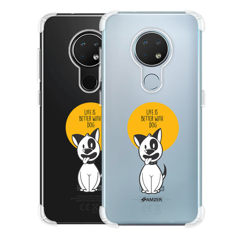 Life Is Better With A Dog Soft Flex Tpu Case For Nokia 6.2