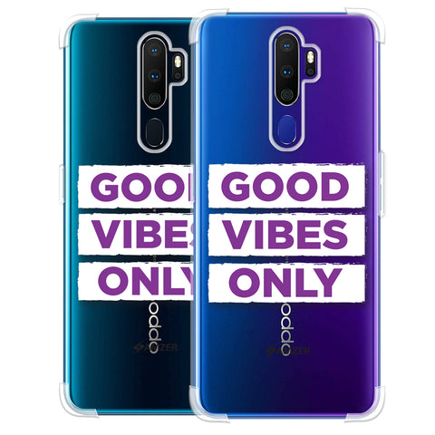 Good Vibes Only Soft Flex Tpu Case For Oppo A9 2020