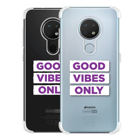 Good Vibes Only Soft Flex Tpu Case For Nokia 6.2