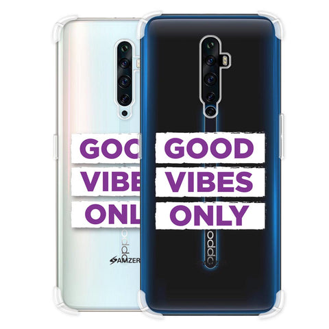 Good Vibes Only Soft Flex Tpu Case For Oppo Reno2 Z