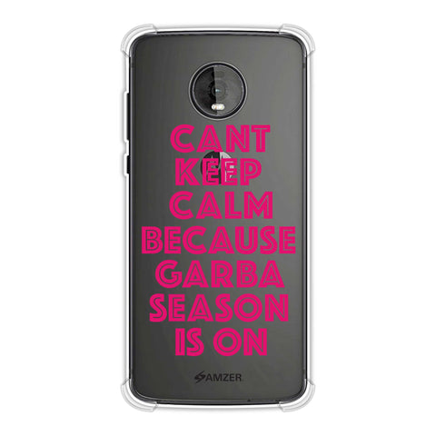 Garba Can't Keep Calm Soft Flex Tpu Case For Motorola Moto Z4