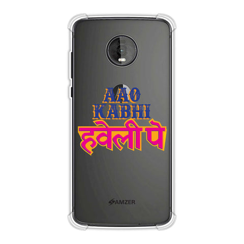 Aao Kabhi Soft Flex Tpu Case For Motorola Moto Z4