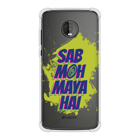 Sab Moh Maya Hai Soft Flex Tpu Case For Motorola Moto Z4
