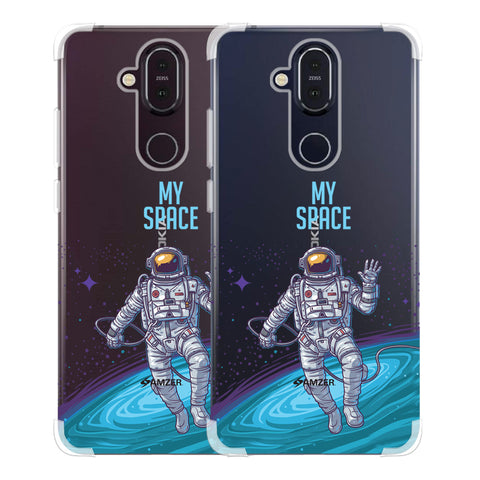 I Need My Space Soft Flex Tpu Case For Nokia 8.1