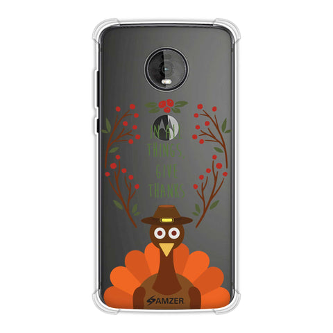 Wise Turkey 1 Soft Flex Tpu Case For Motorola Moto Z4