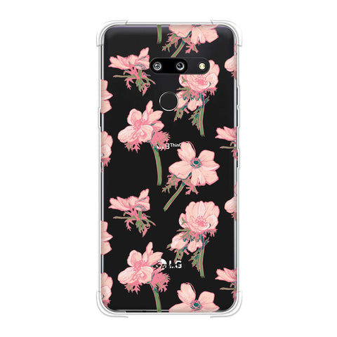 Floral Beauty Soft Flex Tpu Case For LG G8 ThinQ