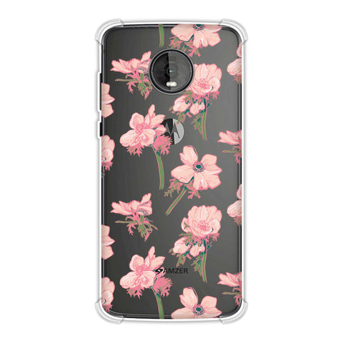 Floral Beauty Soft Flex Tpu Case For Motorola Moto Z4