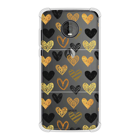 I Heart Hearts Soft Flex Tpu Case For Motorola Moto Z4