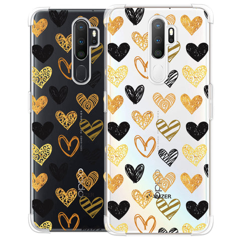 I Heart Hearts Soft Flex Tpu Case For Oppo A5 2020