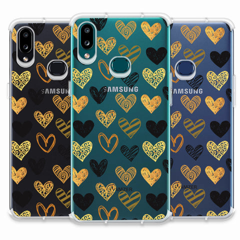I Heart Hearts Soft Flex Tpu Case For Samsung Galaxy A10s