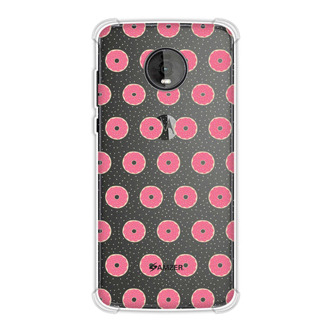 Donuts Soft Flex Tpu Case For Motorola Moto Z4