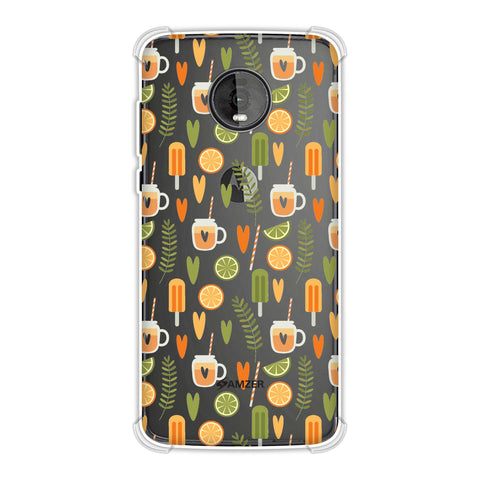 Once Upon A Summer Soft Flex Tpu Case For Motorola Moto Z4
