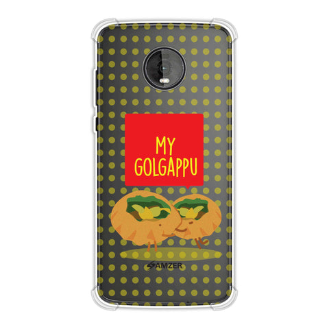 My Golgappu Soft Flex Tpu Case For Motorola Moto Z4