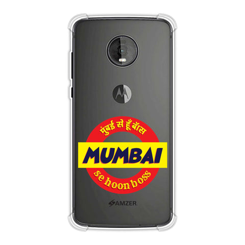 Mumbai Se Hu Boss Soft Flex Tpu Case For Motorola Moto Z4