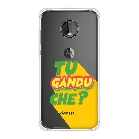 Tu Gandu Che? Soft Flex Tpu Case For Motorola Moto Z4