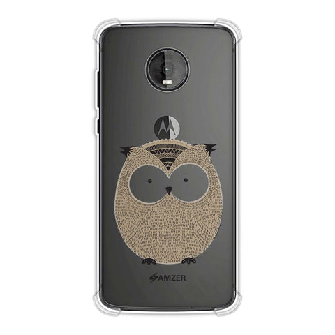 Owl Soft Flex Tpu Case For Motorola Moto Z4