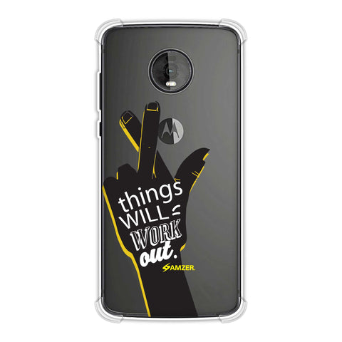 Things Will Work Out Soft Flex Tpu Case For Motorola Moto Z4