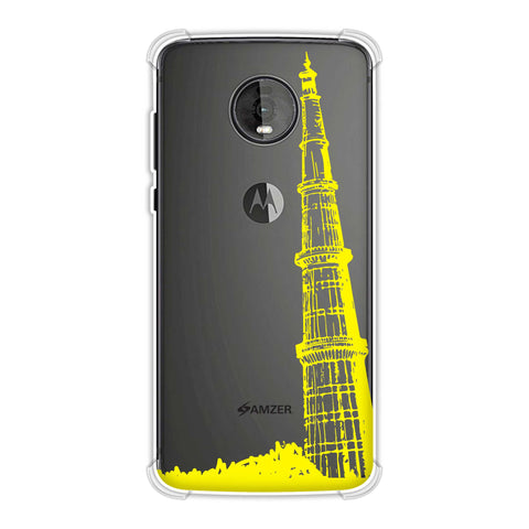 Qutub Minar Soft Flex Tpu Case For Motorola Moto Z4