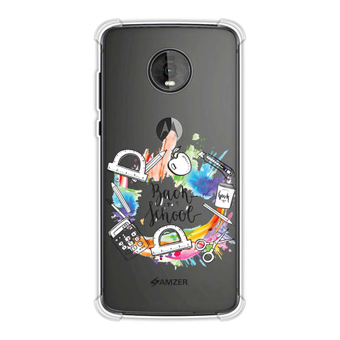 Back To School Soft Flex Tpu Case For Motorola Moto Z4