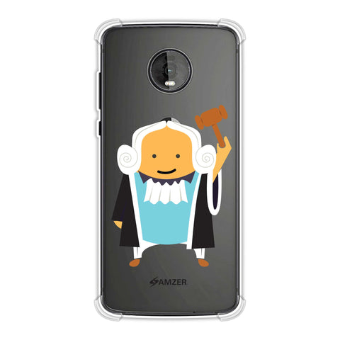 Lawyers 1 Soft Flex Tpu Case For Motorola Moto Z4
