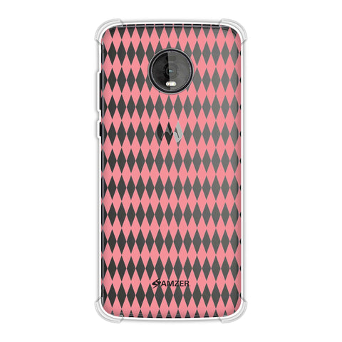 Fishtail Pattern Soft Flex Tpu Case For Motorola Moto Z4