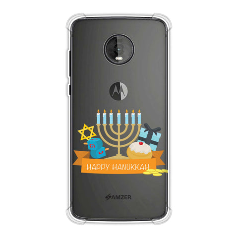 Hanukkah 2 Soft Flex Tpu Case For Motorola Moto Z4