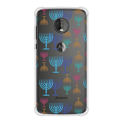 Hanukkah Pattern 2 Soft Flex Tpu Case For Motorola Moto Z4