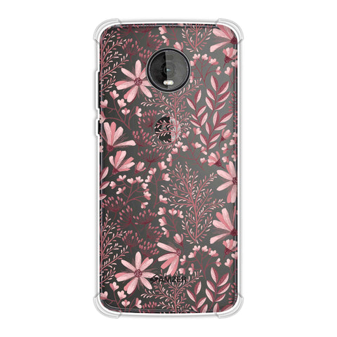Pretty Flowers 3 Soft Flex Tpu Case For Motorola Moto Z4