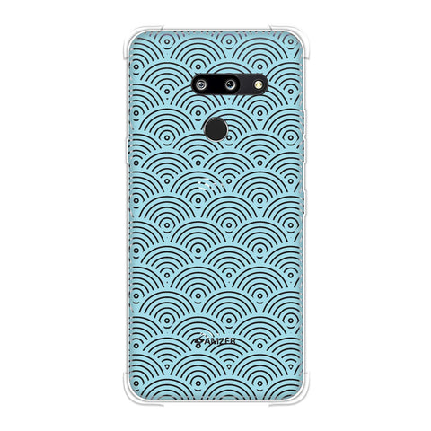 Overlapped circles Soft Flex Tpu Case For LG G8 ThinQ