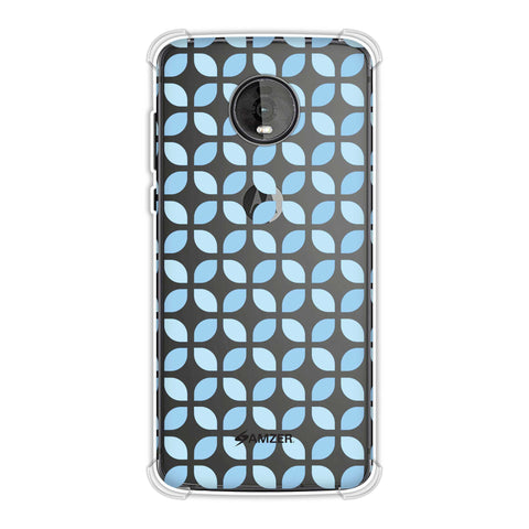 Geometric Flowers 3 Soft Flex Tpu Case For Motorola Moto Z4