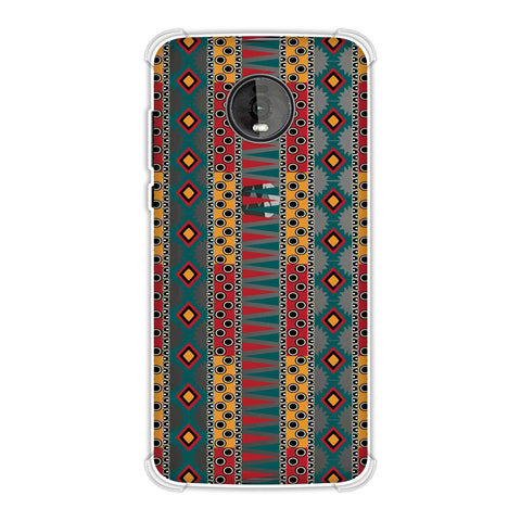 Tribal stripes- Summer sun Soft Flex Tpu Case For Motorola Moto Z4
