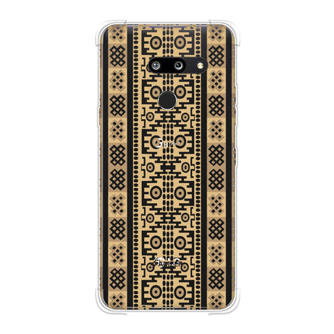 Stripes of culture- Sandstone Soft Flex Tpu Case For LG G8 ThinQ