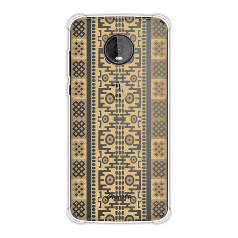 Stripes of culture- Sandstone Soft Flex Tpu Case For Motorola Moto Z4