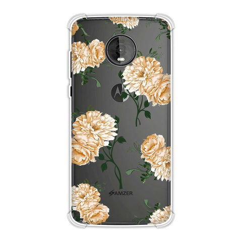 Engineered dahlia- Honey Soft Flex Tpu Case For Motorola Moto Z4