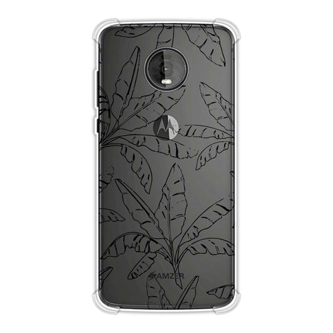 Draw It Tropically - Green Soft Flex Tpu Case For Motorola Moto Z4