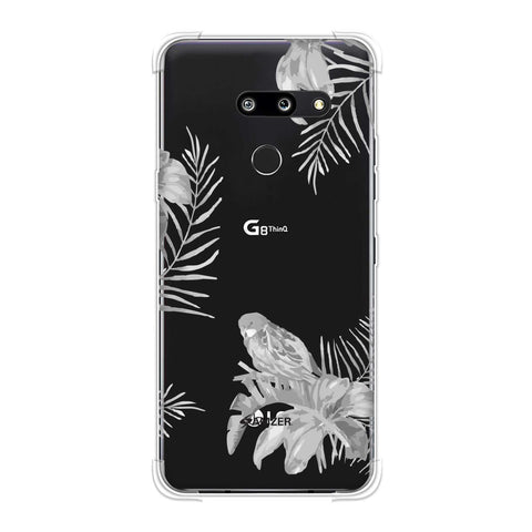 Elements of Tropical - Grey Soft Flex Tpu Case For LG G8 ThinQ